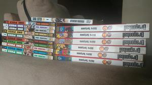 Mangás - Dragon Ball, Soul Eater e One Piece