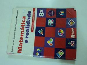 Matemática e Realidade 8º ano; livro usado em bom estado