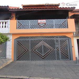 Sobrado residencial para venda e locação, Jardim Marek,