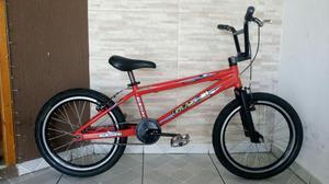 Bicicleta aro 20 cross bmx gts alumínio / bike top