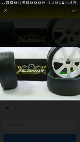 Jogo de rodas buggy mm