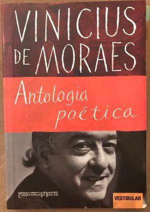 Antologia Poética - Vinicius de Moraes ótimo estado