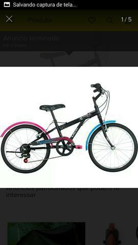Bicicleta Caloi Monster Hight 7 marchas Aro 20