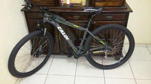 Bicicleta Caloi aro 29 alumínio 17,2 kg -