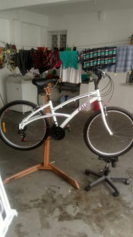 Bike caloi 100 aluminio aro 26 21v