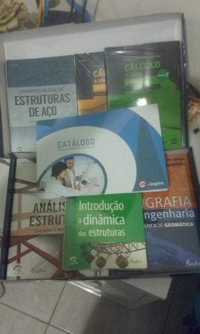 Coleção de livros de engenharia