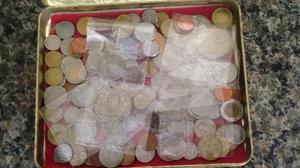 Coleção de moedas de vários paises