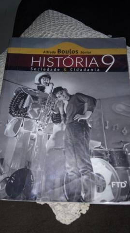 Livro 9 ano história