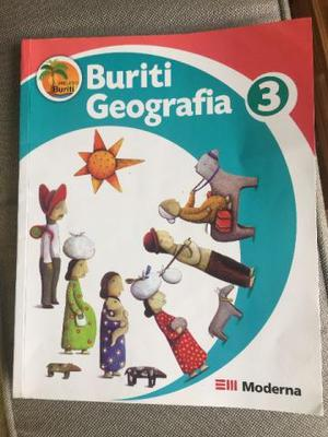 Livro Buriti Geografia 3 Ano 2a Ed. Moderna  Ensino