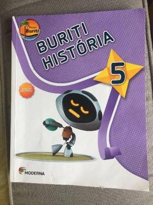 Livro Buriti História 5o Ano 3a Ed. Moderna  Ensino