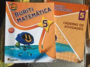 Livro Buriti Matemática 5o Ano 3a Ed. Moderna  Ensino