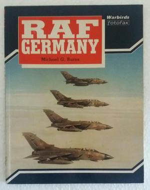 Livro Importado RAF Germany Aviação