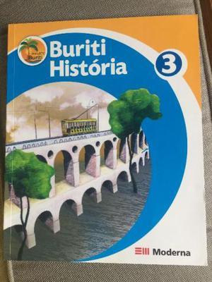 Livro Projeto Buriti História 3 Ano 2a Ed Moderna