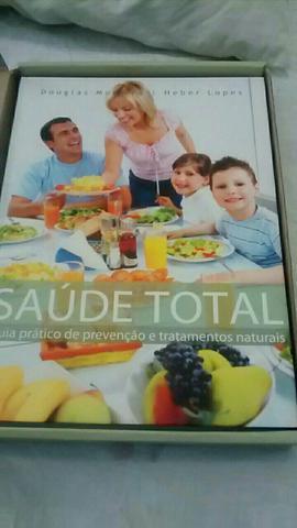 Livro Saúde total novo com caixa ótimo presente de Natal