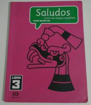Livro Saludos 3 Editora Ática