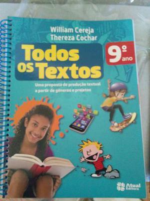 Livro Todos os textos 9 ano
