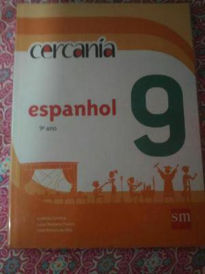 Livro de Espanhol Nonô ano da editora SM