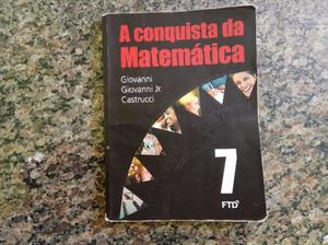 Livro de Matemática A conquista da Matemática 7 ano -
