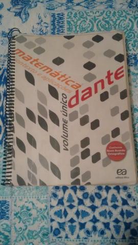 Livro de Matemática Contexto e Aplicações Usado