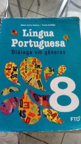 Livro lingua portuguesa 8 ano