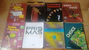 Livros 7 ano Ensino Médio