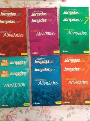 Livros Saraiva colégio Luiz Rosa Jundiai 7 ano