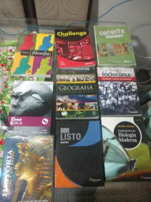 Livros do Ensino Médio(nomes e preços na