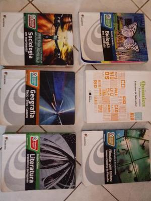 Livros usados para Ensino Médio