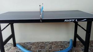 Mini mesa de tênis de mesa Klopf (com rede)