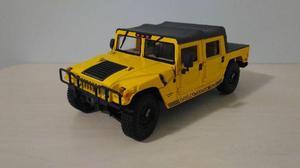 Miniatura Hummer H1 Amarelo 1:18 - Usado - Carrinho de