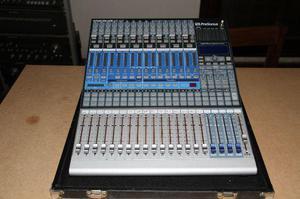 Mixer - Mesa De Som Digital Presonus 16.4.2 - Com Case