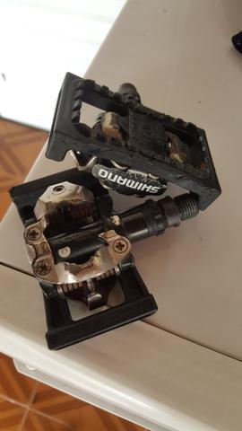 Pedal Clip Shimano M520 com Plataforma
