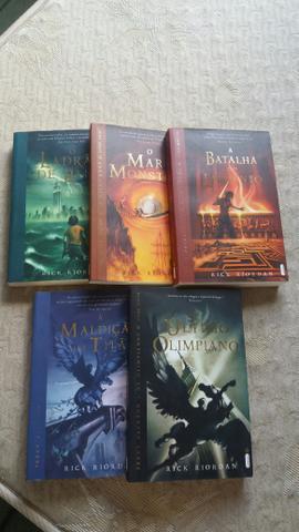 Percy Jackson e os Olímpianos (todos os livros)