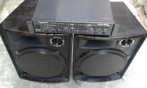 Som para festas, barzinho e igreja amplificador + caixas