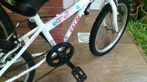 Vendo bicicleta infantil caloi feminina aro 20