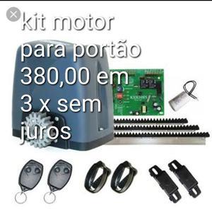 Kit motor para portão deslizante completo