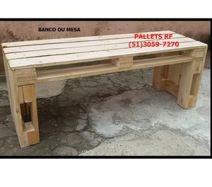 Paletes - Palets - pallets - caixas - mesa decoração