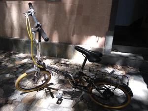 Bicicleta Aro 20 Blitz Alloy Collor Dobrável com 6 Marchas