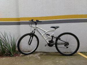 Bicicleta Freeaction 240 Full 18 Marchas Branca com
