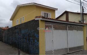 Sobrado residencial à venda, Vila Fátima, Guarulhos.