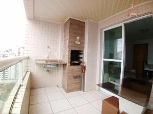 Apartamento residencial à venda, Vila Guilhermina, Praia