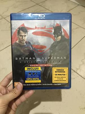 Blu ray Batman vs Superman