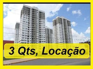 Locaçao apartamento 3 quartos região em frente unic, com