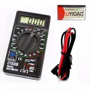 Multimetro Digital Dt830b Profissional Com Bateria