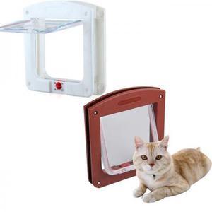 Porta Vai E Vem Para Gatos E Cachorros - Pet Door - 4