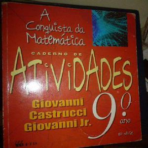 A conquista da matemática\9 ano