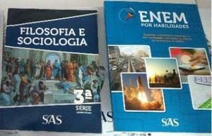 Apostila - ENEM por Habilidades SAS e Livro de Filosofia SAS