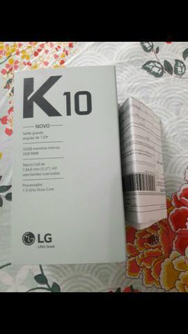 Lg k10 Novo Nunca USADO e com nota fiscal