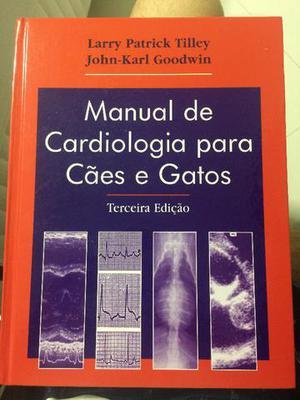 """Livro """"Manual de Cardiologia para Cães e Gatos"""""""