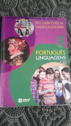 Livro Português Linguagens 8° ano